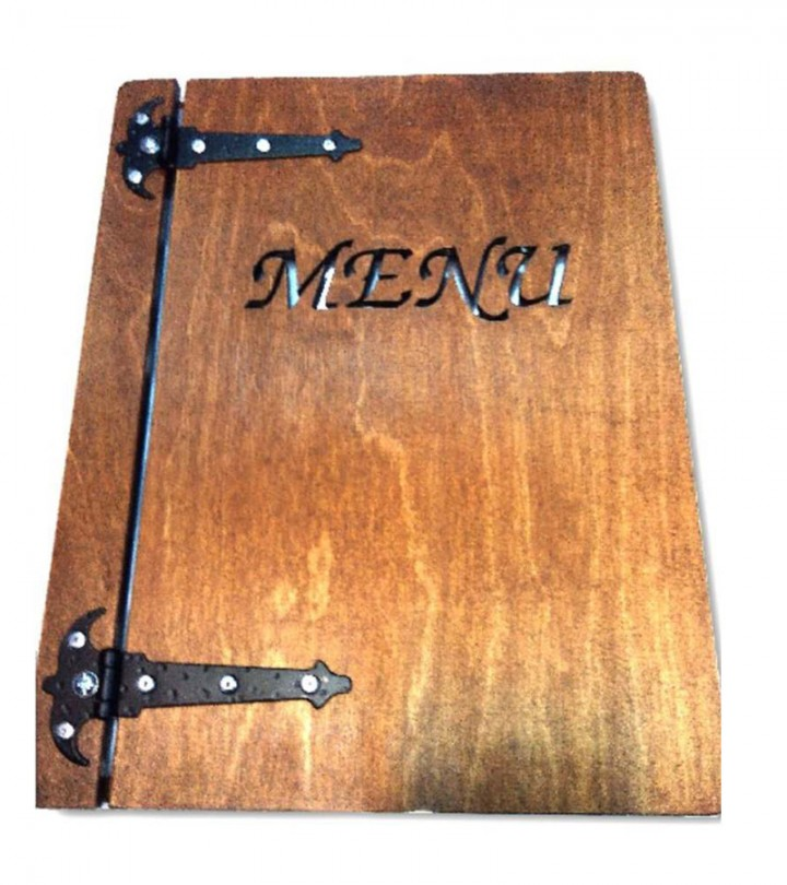 "Karta menu MD03 - ""SQUARE"" standard"